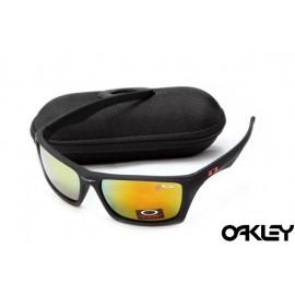 Oakley jury polished matte black and ruby iridium