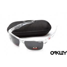 Oakley jury polished clear and black iridium