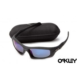 Oakley monster pup matte black and ice iridium