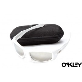 Oakley monster pup white and grey iridium