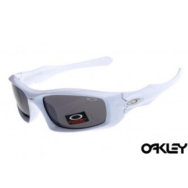 Oakley monster pup white and black iridium online