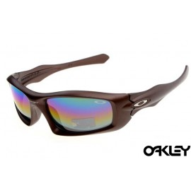 Oakley monster pup brown and fire iridium