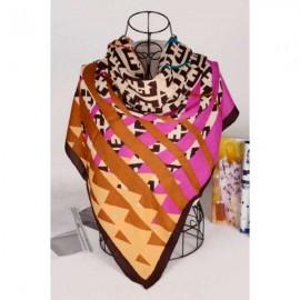 Fendi silk square scarf