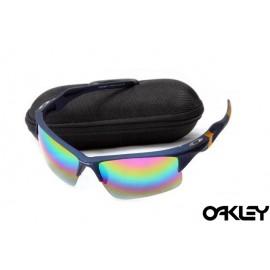 Oakley half jacket 2.0 sunglass nave blue and fire iridium