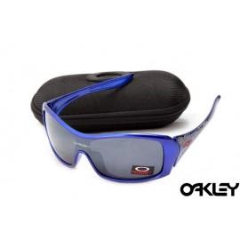 Oakley forsake polished brilliant blue and black