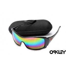 Oakley forsake polished black and colorful iridium