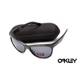 Oakley fringe polished black and clear black iridium