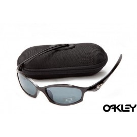 Oakley hatchet wire sunglasses in polished black and orion blue