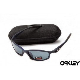 Oakley hatchet wire sunglasses in navy blue and grey