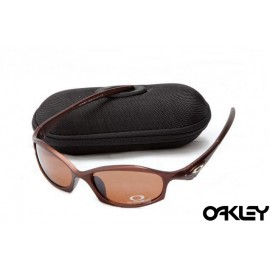 Oakley hatchet wire sunglasses in earth brown and brown