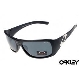 Oakley sideways sunglasses in matte black and grey